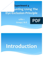 Cell Counting Using Dye Exclusion Principle