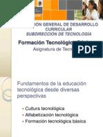 Formacion Tecnologica Basica DGDC