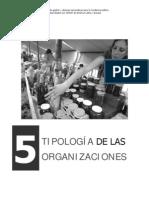 Cap5 Tipologia de Las Organizaciones