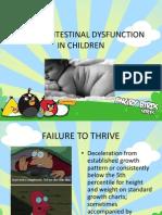 GASTROINTESTINAL DYSFUNCTION IN CHILDREN.pptx