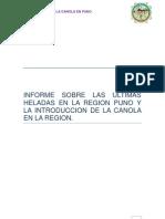 Informe de Heladas.