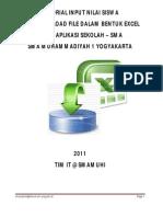 Tutorial Input Nilai Siswa by Excel 2011