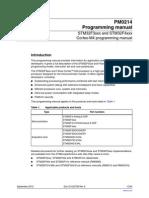 DM00046982-STM32f4 Promgramming Manual