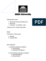 EGEA University
