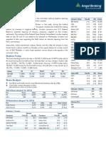 Market Outlook, 20-08-2013