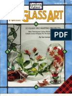 Free-Form Glass Art - 31 Glass Decorating Projects