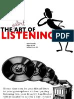 Silent art of listening
