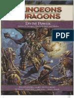 D&D 4th Edition - Divine Power