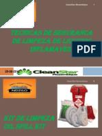 TECNICAS de SEGURANCA Com Limpeza de Liquidos Inflamaveis