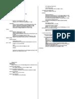 UM Tax 1 Case List