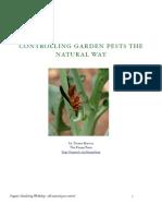 All Natural Pest Control