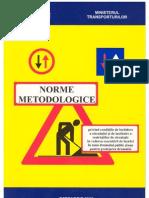 Norme Metodologice Semnalizare Temporara Mar04