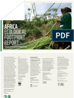 Africa Ecological Footprint Report - Green Infrastructure for Africa's Ecological Security (AfDB, WWF - 2012)