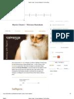 Mystic Chants - Nirvana Shatakam _ the Isha Blog