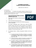 CDA Financial Rules