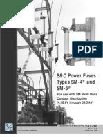Power Fuse Sm 5