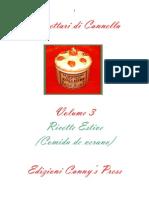 Comida de Verano Ricettario Cannella