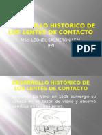 01 DESARROLLO HIST�RICO DE LOS LENTES DE CONTACTO.ppsx
