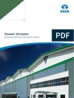 Trisomet 333 Insulated Cladding Panel Brochure