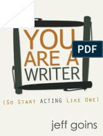 149177770 You Are a Writer So Start Acting Like One