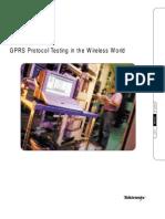 GPRS Protocol Testing in the Wireless World