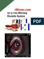Regole Roulette