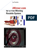 Roulette How To Play Roulette