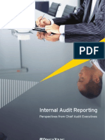 Internal Audit Reporting - Perspectives From Chief Audit Executives