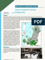 Programme de la Science de la Conservation et Espèces – Adaptation au Changement Climatique dans la Région Diana (WWF – 2013)