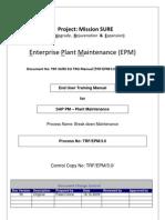 Sap Pm End User Manual Breakdown Maintenance