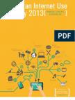 Pakistan Internet Use Survey 2013
