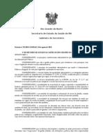 PORTARIA N 321 PARAMETRIZAÇÃO PLANTÕES NA SAUDE