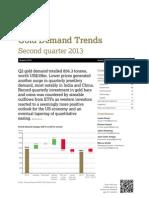 WGC Q2 Demand Trends