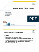 SHAREBoston CICS Performance Tuning Primer -- DFH0STAT