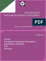 Revitalisasi Pkm-kota Bdg