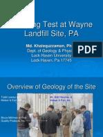 Pumping Test at Wayne Landfill Site.pdf