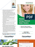 Potomac Edison - Residential Water Heater