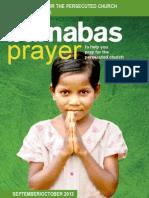 Prayer Diary September/October 2013