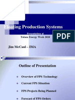 Floating Production Systems - Tulane Presentation by James McCaul