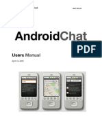 Androidchat User Manual