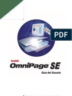 Scansoft Omnipage SE Guía de Usuario