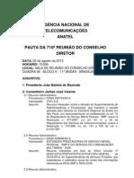 PAUTA 710 REUNIAO CONSELHO 22082013