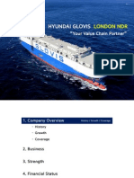 [Hyundai Glovis] Kis London Ndr