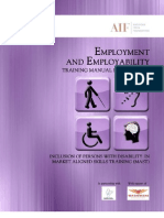 AIF Employment and Employability