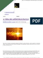 A VIDA DO APÓSTOLO PAULO _ Portal da Teologia.pdf