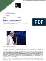 Pedro, primeiro papa_ _ Portal da Teologia.pdf