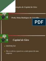 Administração de Capiral de Giro