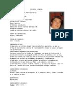 Historia Clinica Farmaco