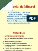 1-Conceito de Mineral