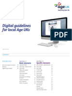 Digital Guidelines for Local Age UKs